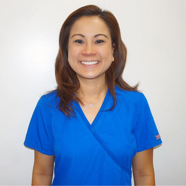 Carolyn, Hygienist at Oahu Pediatric Dentistry.
