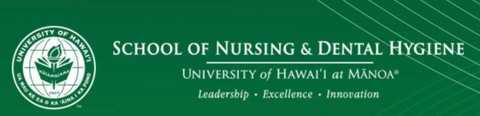 University of Hawaii at Manoa Department of Nursing and Dental Hygiene logo