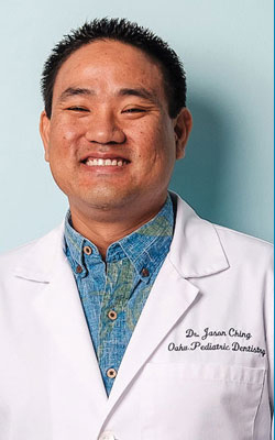 Dr. Jason at Oahu Pediatric Dentistry